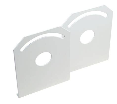 wall and ceiling mounting bracket for ex fluorescent light
