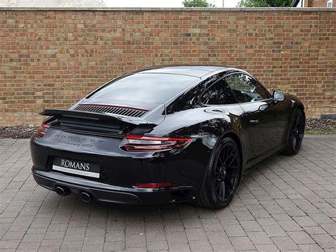 Porche Pics by 2017 Used Porsche 911 991 Gts Jet Black