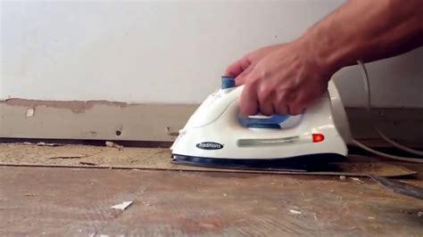 remove vinyl flooring glue down tile floor using method wooden removing linoleum floors irons
