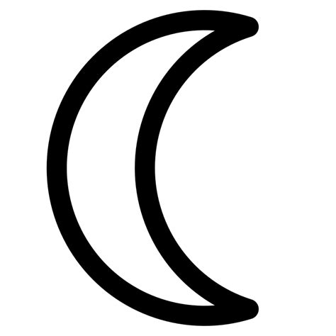 crescent moon icon in messages what does it macreports file moon symbol decrescent svg wikibooks manuali e