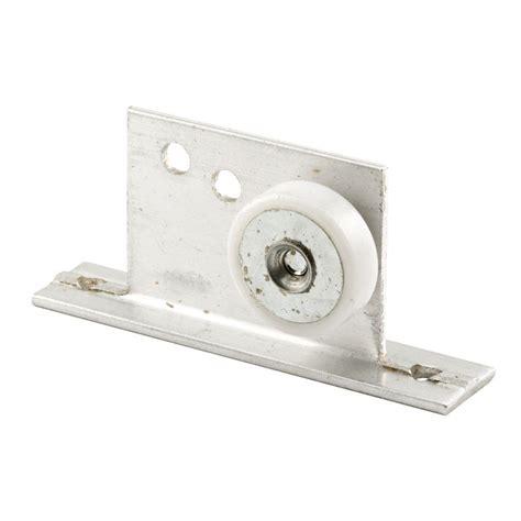 shower door roller prime line 3 4 in flat shower door roller and bracket m