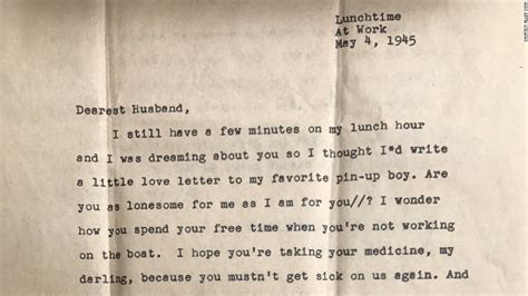 letters to the i loved a lost letter finds its recipient after 72 years cnn