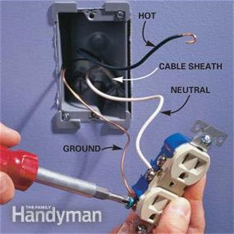 wire  outlet  add  electrical outlet