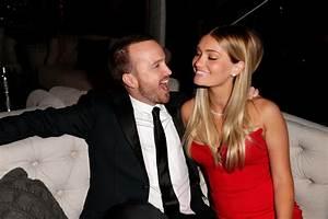 Aaron Paul and his wife, Lauren Parsekian, were just ...