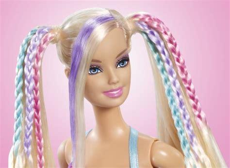 Barbie Color Change Surprise Hair At Style Salon