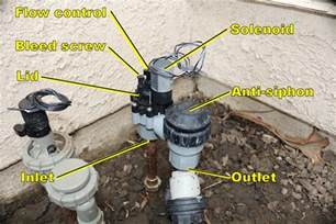 rainbird anti siphon valve leaks won t fully irrigation tutorials