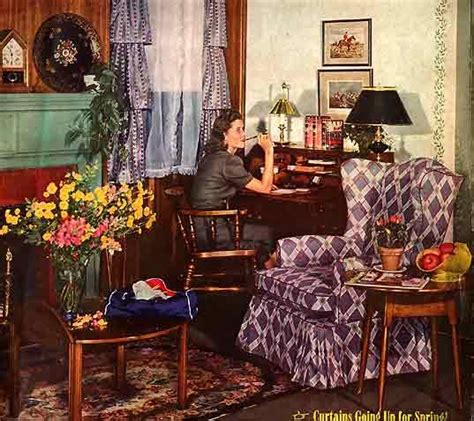 66 Best 1940's Home Decor Images On Pinterest  1940s