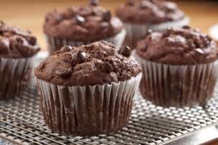 chocolate muffin recipe colossal chocolate muffins mrfood com