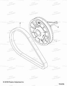Polaris Side By Side 2017 Oem Parts Diagram For Drive Train  Secondary Clutch