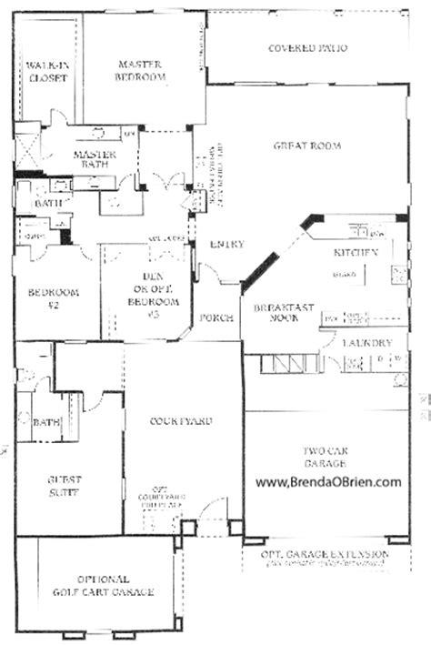saddlebrooke floor plan cimarron model