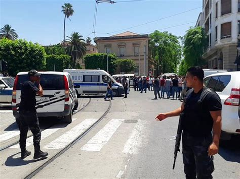 The Latest: Police officer dies in Tunisia suicide attack ...