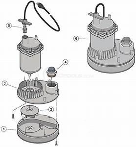Sta-rite Monsoon Submersible Pump Parts