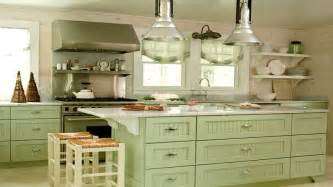 green kitchen flooring green painted kitchen cabinets