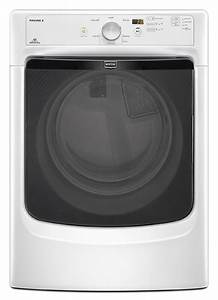Mgd3000bw Maytag Gas Dryer 7 4 Cu  Ft  In White