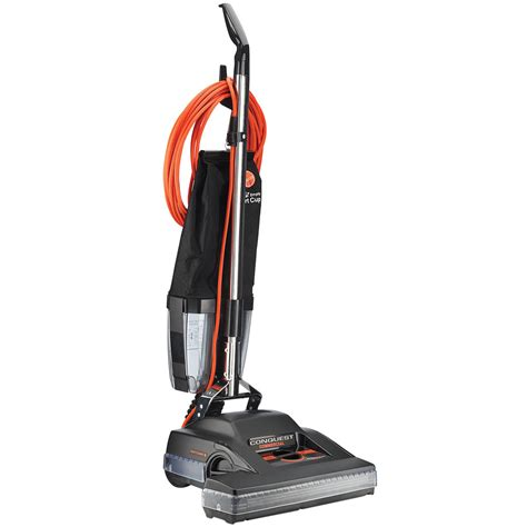 vaccum cleaners hoover c1810 010 18 quot conquest commercial bagless vacuum