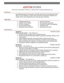 Best Retail Salesperson Resume Example Livecareer