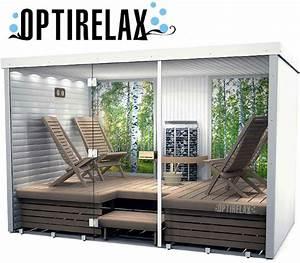 Sauna Mit Glasfront : sauna mit glasfront hotrelax xxl i optirelax blog ~ Articles-book.com Haus und Dekorationen