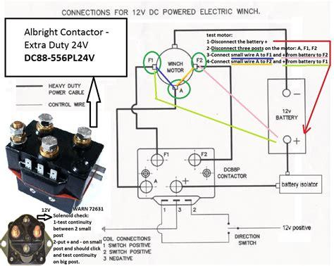 Badland Winch Wiring Setup by Wiring An 8274 Albright Page 2 Ih8mud Forum