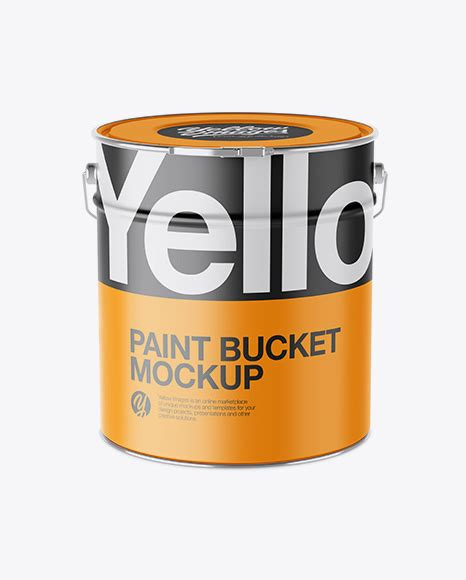 If you want to use it in a real project, please purchase the 20l tin paint bucket mockup. Glossy Paint Bucket Mockup - High-Angle Shot - 20L Matte ...