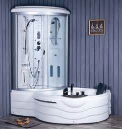 Steam Shower Enclosures with Tub