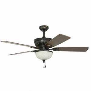 Harbor breeze herndon in aged bronze ceiling fan
