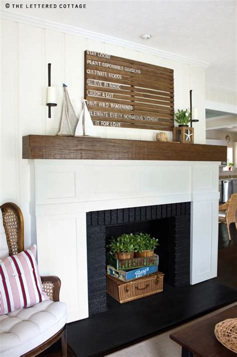 empty fireplace decorations decorating an empty fireplace love the basket and crates decor living room pinterest