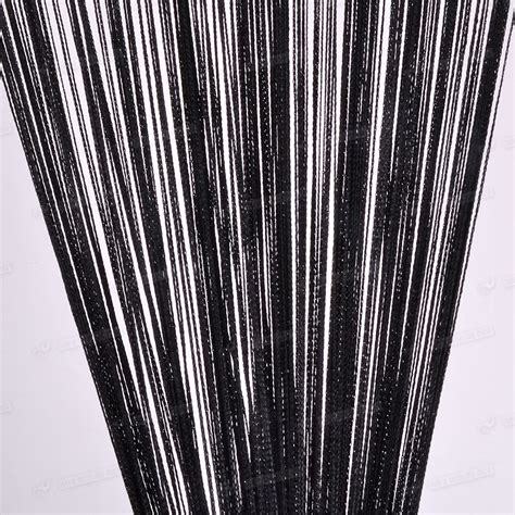 string curtains patio net fringe for door fly screen