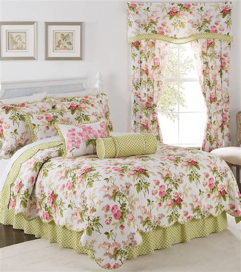 bed bedding beautiful waverly bedding  cozy bedroom