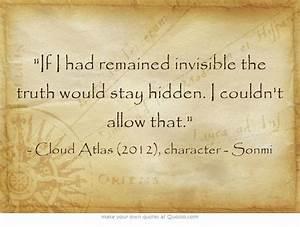 Best 25+ Cloud ... Atlas Movie Quotes