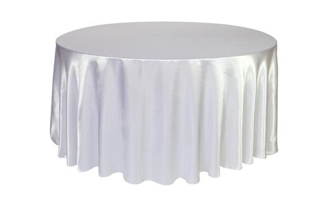 round white table cloth white satin round table cloth 3m x 3m moments of elegance