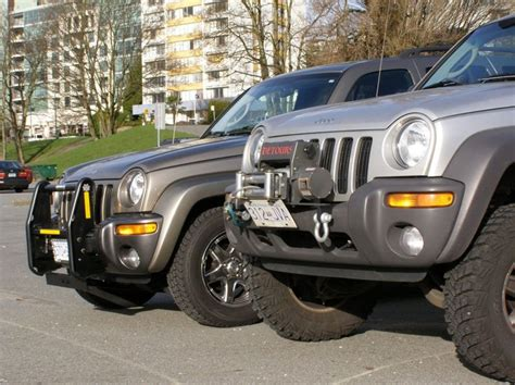 custom jeep liberty bumpers lets    lifted