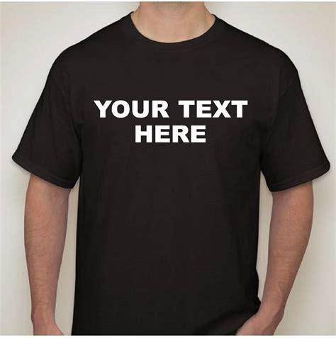 custom t shirt design personalized custom t shirt new l xl 2x 3x create your