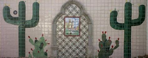 the tucson murals project mexican tile and stone