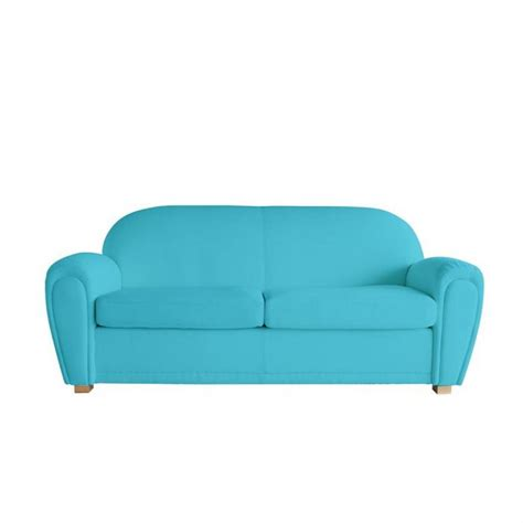 canapé convertible turquoise emejing canape bleu turquoise ideas yourmentor info