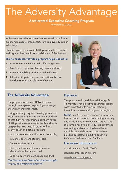 accelerated executive coaching program lantos coaching