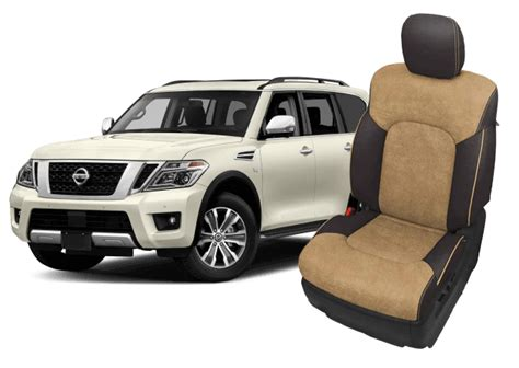 nissan armada leather seats interiors seat covers