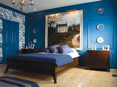 Blue For Bedroom Walls, Black Bedroom Furniture Decorating