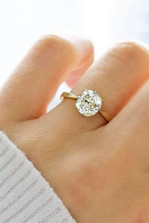 100 simple engagement rings for the timeless fazhion