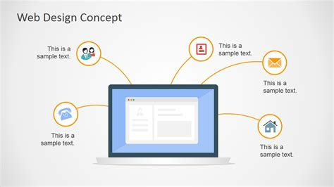 web design concept powerpoint  slidemodel