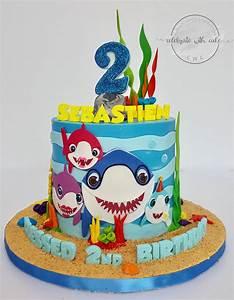 Celebrate with Cake!: Baby Shark Family