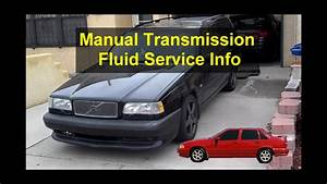 How To Service The Manual Transmission Fluid Change
