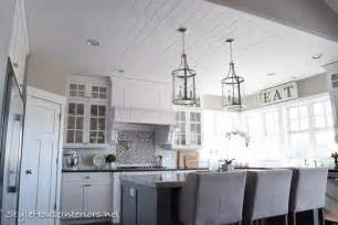 Shiplap Walls with Ceilings