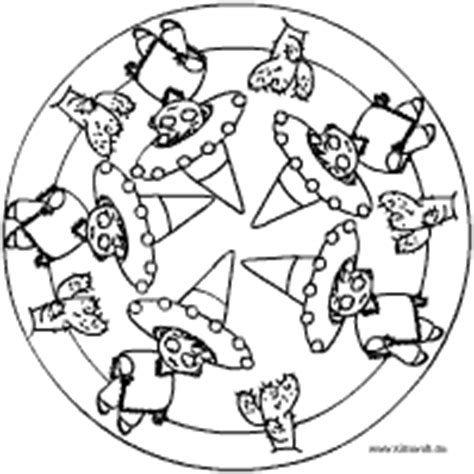 fasching mandala im kidswebde