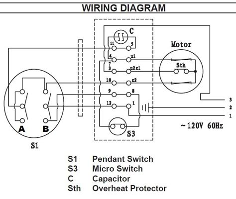 Pendant Switch Wiring Diagram by Pendant Wiring Diagram Wiring Diagram