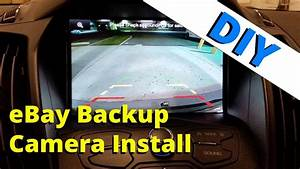 Ford Escape Backup Camera Installation To Mft  How To