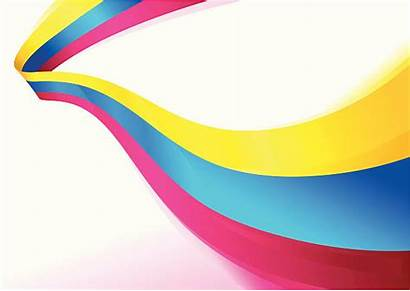 Flowing Ribbon Vector Clip Ribbons Illustrations Colors