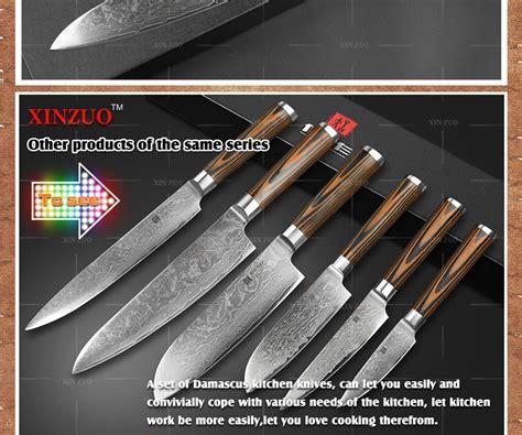 chef knife wholesale inch knives kitchen santoku handle wood