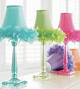 add feathers to any lamp little girl39s room so darling With pink feather floor lamp