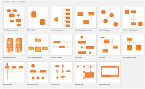 Office Desk Visio Stencils by Visio Which Templates Support Database