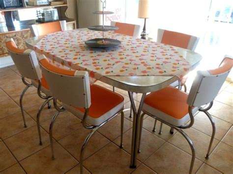 kitchen dining set retro table  chairs ebay